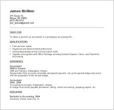 Gallery Of Accounting Resume Examples And Career Advice Accounting