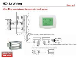 truezone™panels training module ppt video online download Honeywell Zone System Panels hz432 wiring wire thermostat and dampers to each zone