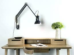 wall mount desk lamp image of swing arm lamps vintage mounted stupendous wall mount desk