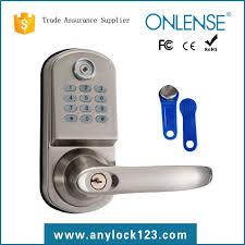 2018latest design ion electronic lock in guangzhou china keyless door lock plant digital pword lock electronic safe lock on alibaba
