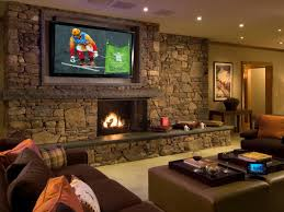 Image Of: Living Room Theater Ideas Wall