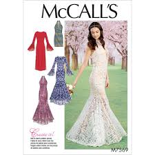 Mermaid Dress Pattern Custom Design Inspiration
