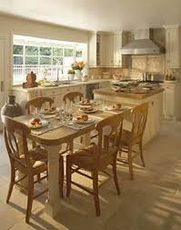 kitchen island table combination. Kitchen Island Table Combination B
