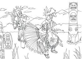 Free Printable Native American Coloring Pages Sanfranciscolife