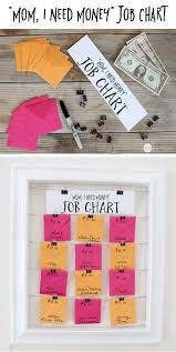 Chore Chart With Money Reward Awesome Chore Charts That Work School Stuff Chores For