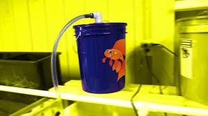 diy aquarium bucket filter fish tank pond canister filter homemade bioball tower filter