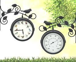 decorative outdoor thermometer decorative outdoor clock and thermometer decorative outdoor thermometer canada