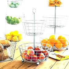 3 tiered fruit stand