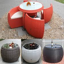 rattan table chair outdoor furniture