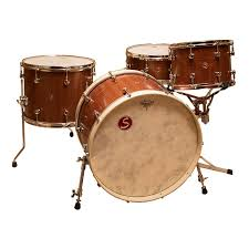 Sugar Percussion Custom 4pc Stave-Built Drum Kit