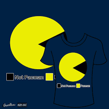 Pacman Pie Chart Score Pacman Pie Chart By 9teen On Threadless