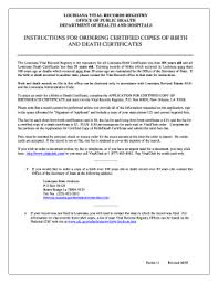 Requesting A Death Certificate 10 Printable Make A Death Certificate Online Forms And
