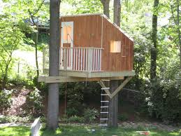 easy kids tree houses. Wonderful Houses Awesome And Simple Tree House Some Great Things To Note Railing On The  Balcony Will Keep Little Kids Safe Windows Are Higher From Ground Less Of A  For Easy Kids Tree Houses M