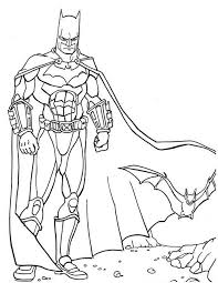 Kleurennu Batman Met Vleermuis Kleurplaten