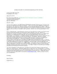 Mechanical Engineering Student Cover Letter Contemporary Pictures