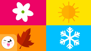 The four seasons of the year for kids - Which are the seasons ...