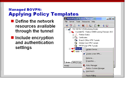 policy templates applying policy templates