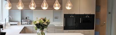 statement lighting. Handled German Kitchen With Statement Lighting And Gaggenau Appliances \u2013 Kedleston Interiors I Bespoke Kitchens Bathrooms