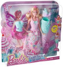 Amazon Com Barbie Fairytale Dress Up Doll Toys Games