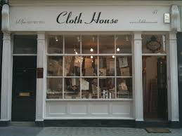 The Cloth House In London. Love the display.. http://ajoureblog ... & Shop ideas Adamdwight.com