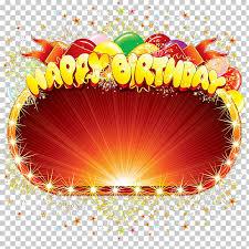 birthday cake happy birthday to you happy birthday frame png clipart