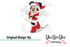 Bowling Machine Embroidery Designs Minnie Christmas Fill Stitch Machine Embroidery Design
