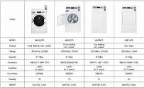 Image Result For Washer And Dryer Sizes Chart Small Garden