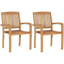 reclining garden chairs 2 pcs solid