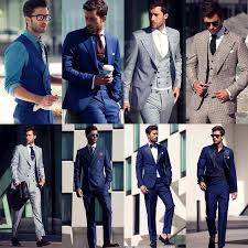 Grey suit, great color combination #GQ