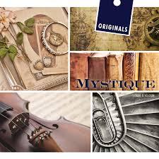Mystique Van Originals Klassiek Behang Met Bloemen