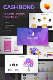 Powerpoint Financial Cash Bond Financial Presentation Powerpoint Template