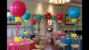 Turquoise Baby Shower Decorations Creative Baby Shower Balloon Decorating Ideas Youtube