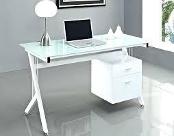 glass desk for computer office table white modern elegant alluring desks home installing stunning plain vecelo glass desk for computer