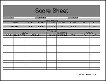 Free Football Forms