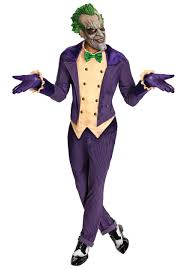 arkham city the joker costume