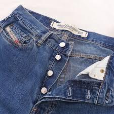 Diesel Mens Jeans Size Chart Mens Diesel Industry Denim Jeans 4 Button Fastening Depop
