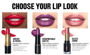 Revlon Super Lustrous Lipstick Colour Chart Revlon Super Lustrous Lipstick