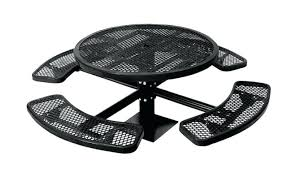 round plastic picnic table plastic picnic tables with bench seats
