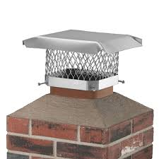shelter 9 in w x 9 in l stainless steel square chimney cap