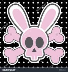 bunny skull and crossbones logo rabbit skull and crossbones by theeviljebustalkshow on deviantart of bunny skull