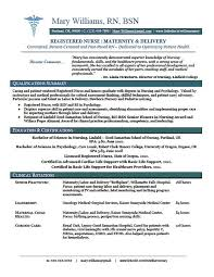 Nursing Resume Examples With Clinical Experience. Entry-Level