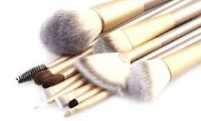 image is loading professional makeup brush set with storage travel case