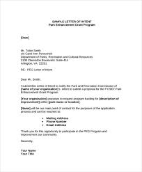 Examples Of Letter Of Intent Sample Contract Letter Intent To Purchase Use Resume In A
