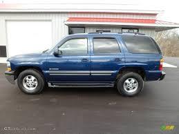 Indigo Blue Metallic 2001 Chevrolet Tahoe LT 4x4 Exterior Photo ...