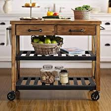 kitchen island cart industrial. Industrial Rolling Bar Cart Island Asstd National Brand Kettering Pertaining To Kitchen Idea 16 T