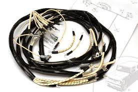 international pickup travelall parts com wiring harness 1950 1952 model l 110 and l 120 dash