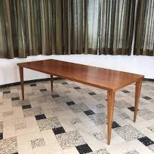 teak dining table by nanna ditzel for poul kolds savÆrk denmark 1950s nanna ditzel