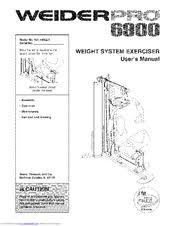 Weider Pro 6900 User Manual Pdf Download