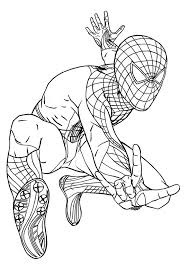Also, the superhero can easily crawl through buildings and remain unnoticed. Free Printable Spiderman Coloring Pages For Kids