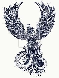 Fototapeta Kouzelné Tetování S Tetováním Tetování A Trička Symbol Oživení